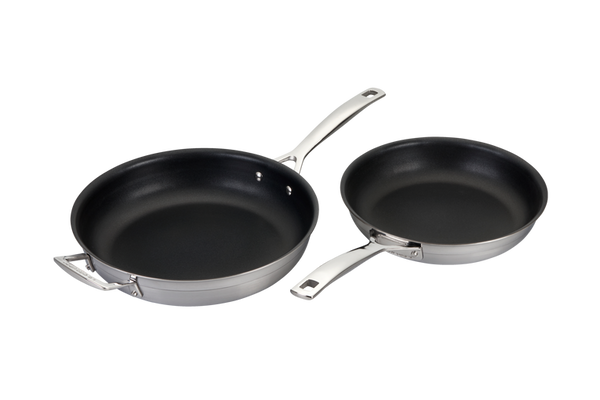 Le Creuset- 4X Toughened Non-Stick 2PC Fry Pan Set