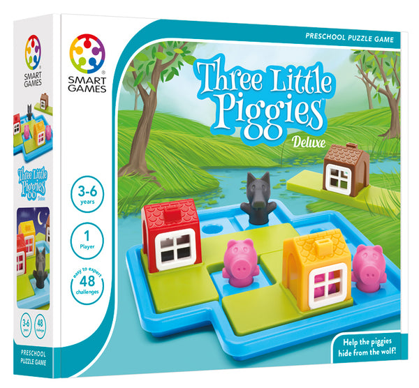 Smart Games-Three Little Piggies (Late March Preorder)
