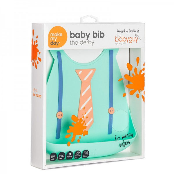 Make My Day Baby Bibs - The Derby