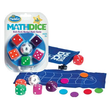 Think Fun-Math Dice Jr. Game