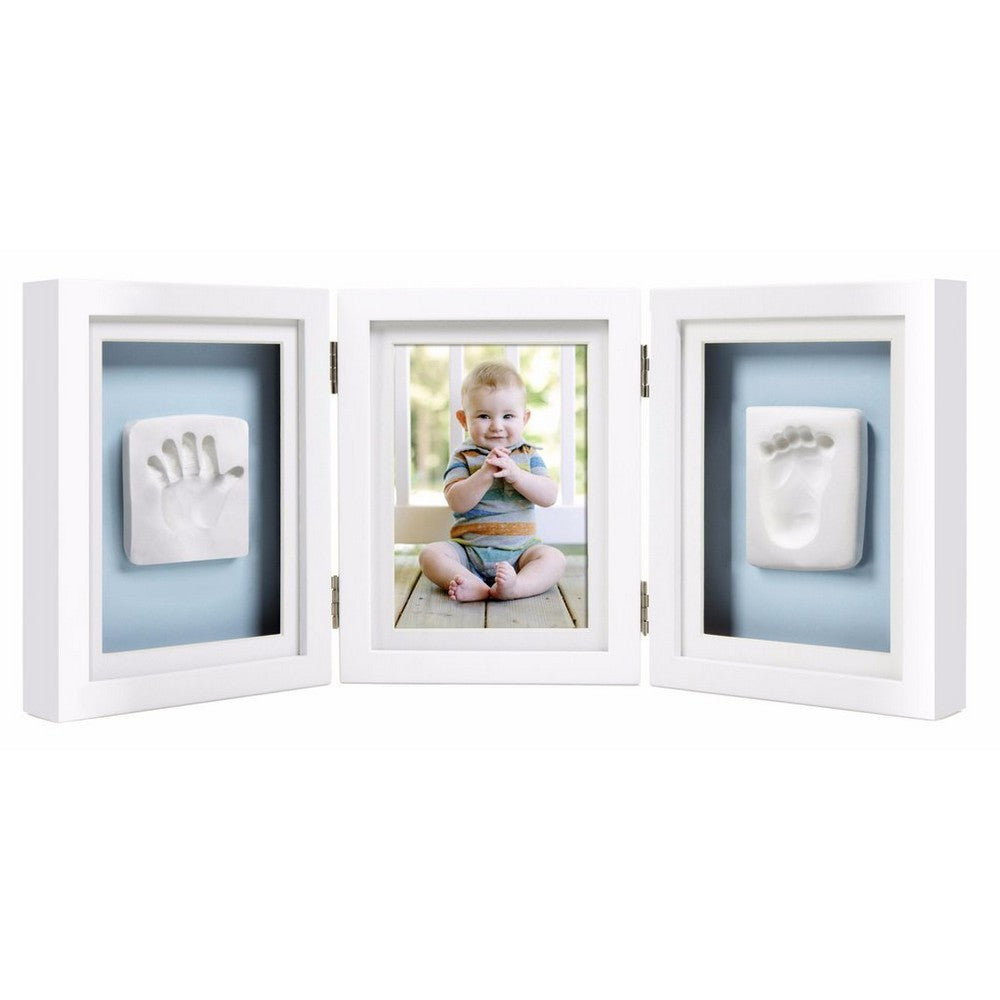 Babyprints Deluxe Desktop Frame - White