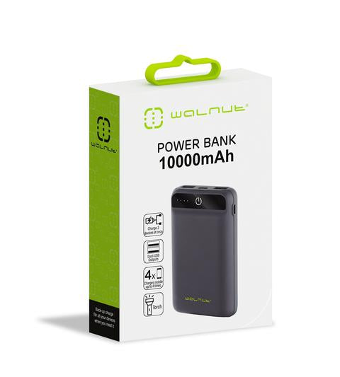 TechCenter - 10000 MAH POCKET POWER BANK BLACK