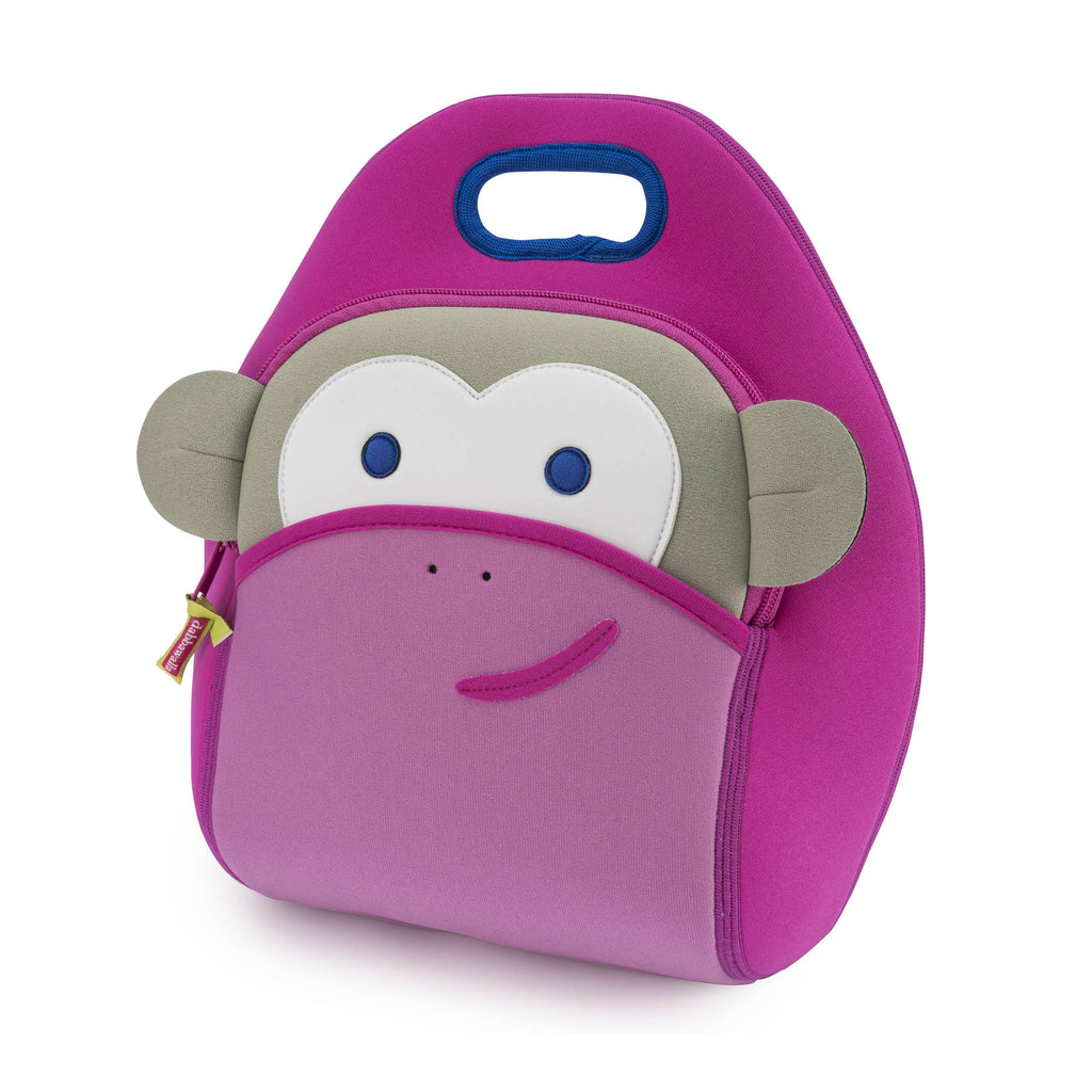Dabbawalla Lunch Bag - Pink Monkey