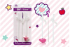 B.box Hello Kitty Replacement Straw and Cleaner