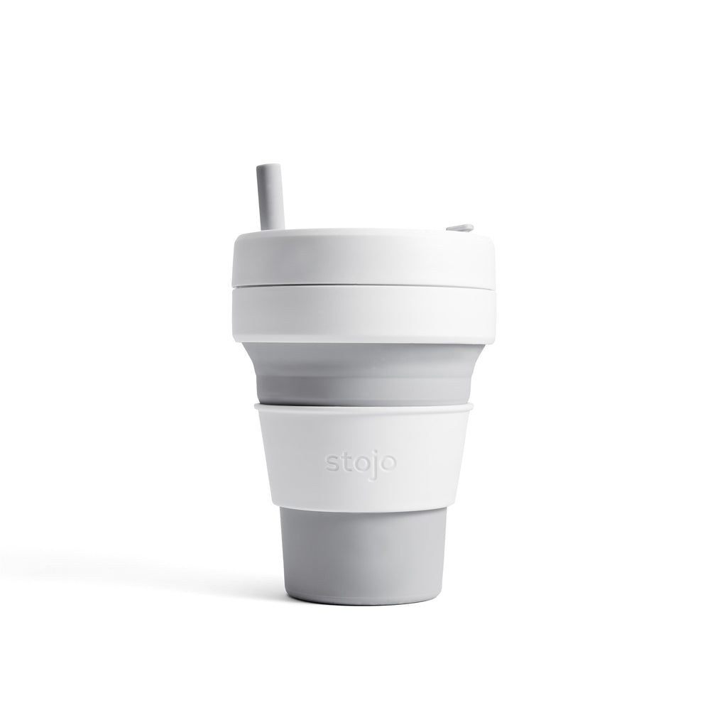 Stojo collapsible cup Biggie 470ml - Dove