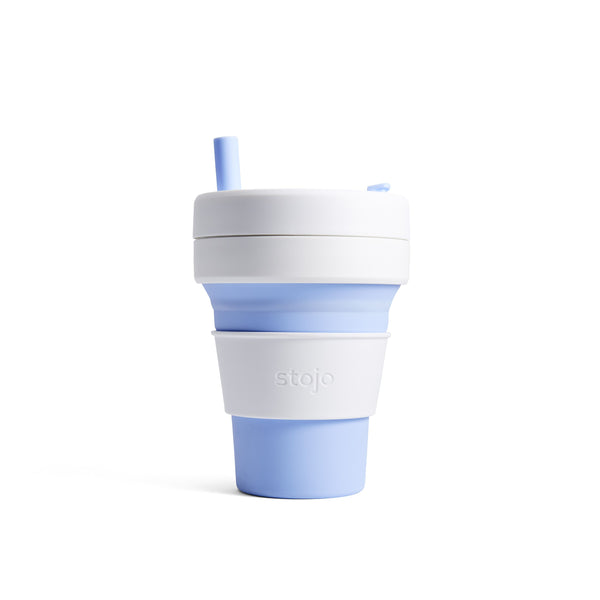 Stojo collapsible cup Biggie 470ml - Sky