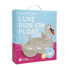 SunnyLife LUXE RIDE-ON FLOAT | SWAN PEARL *Clearance*