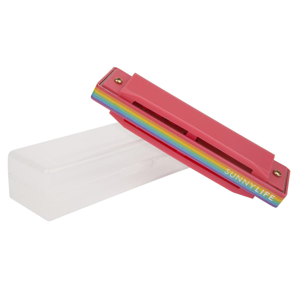 New SunnyLife Harmonica Rainbow