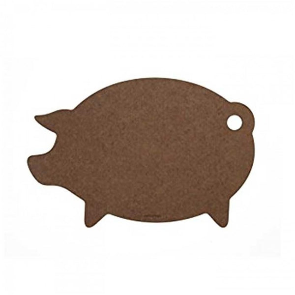 Epicurean-Pig Cutting Board Nutmeg 46 x 28cm x 0.6cm
