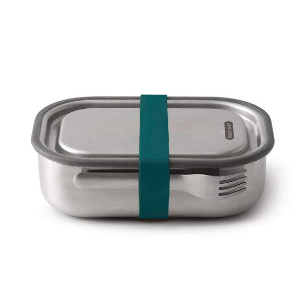 Black + Blum Stainless Lunch Bento Box Ocean Blue 1L