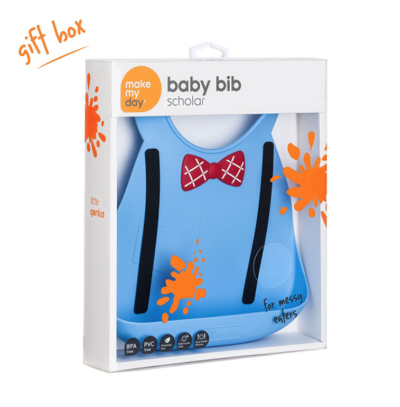 Make My Day Baby Bibs - Scholar