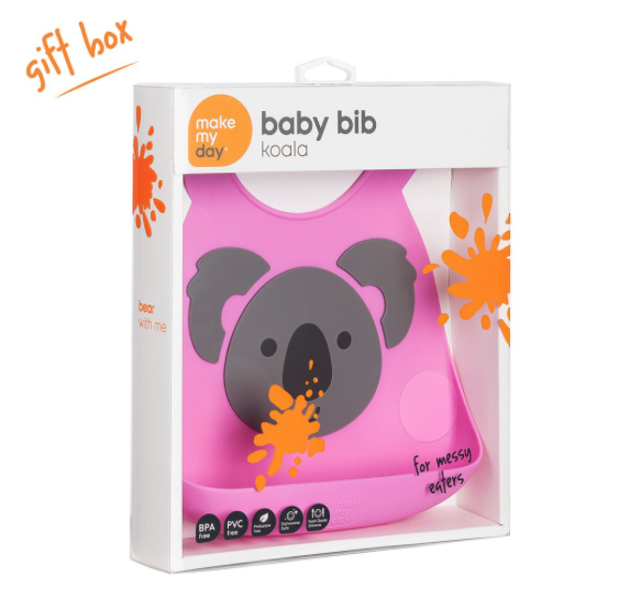 Make My Day Baby Bibs - Koala