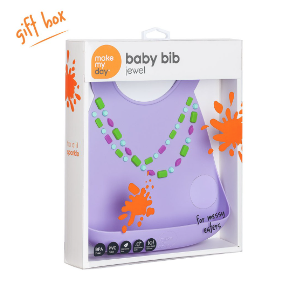 Make My Day Baby Bibs - Jewel