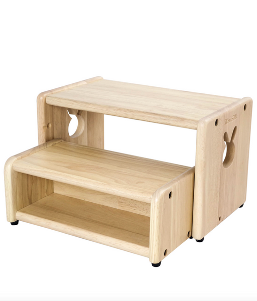 Wooden 2 Steps Stool