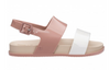 Mel Melissa Cosmetic Sandal Infant - Beige/Dark Nude Gloss (32502/53279)