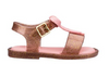Mini Melissa Mar Sandal BB - Rose Gold Glitter (32425/52529)