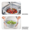 Guzzini Colander and bowl set Spin&Drain