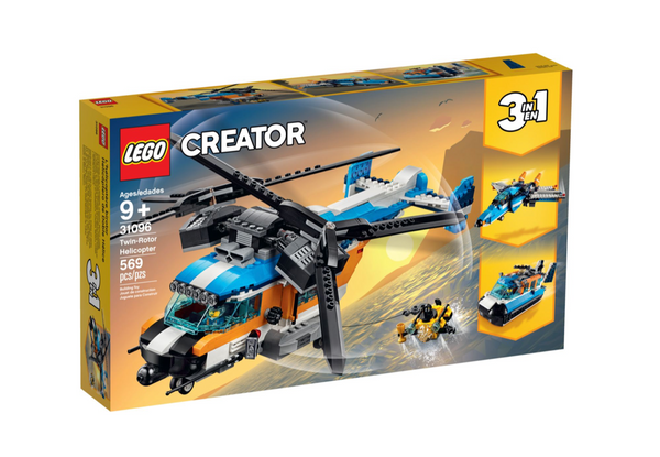 Creator 3 in 1 - Twin-Rotor Helicopter (9+)