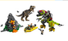 LEGO® Jurassic World™ T. rex vs Dino-Mech Battle