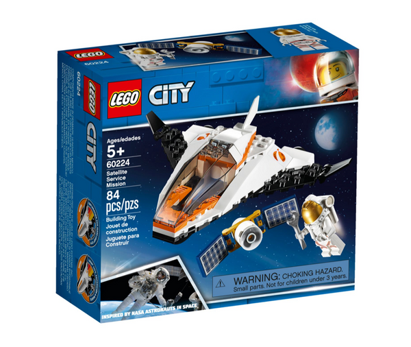 LEGO® City Satellite Service Mission