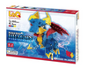 LaQ Puzzle Mystical Beast DRAGON - 5 MODELS, 260 PIECES COPY