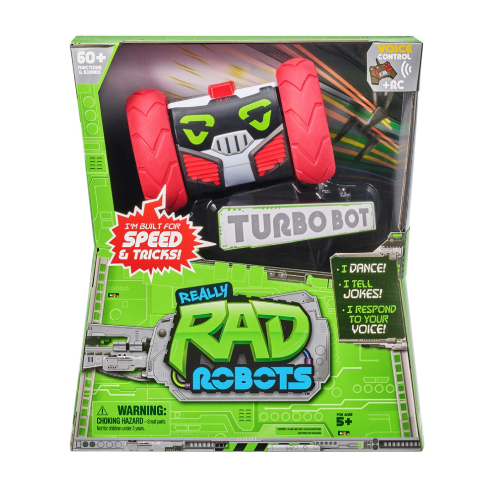 Really Rad Robots- Turbo Bot