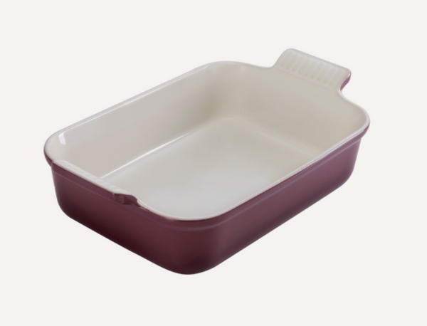 Le Creuset- Fig Collection Heritage Deep Rectangular Dish 26
