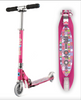 Micro Scooter Sprite - Raspberry Floral Dot (Limited Ed)