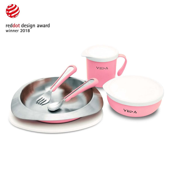 VIIDA Soufflé Stainless Steel Tableware Set (Nov Preorder)
