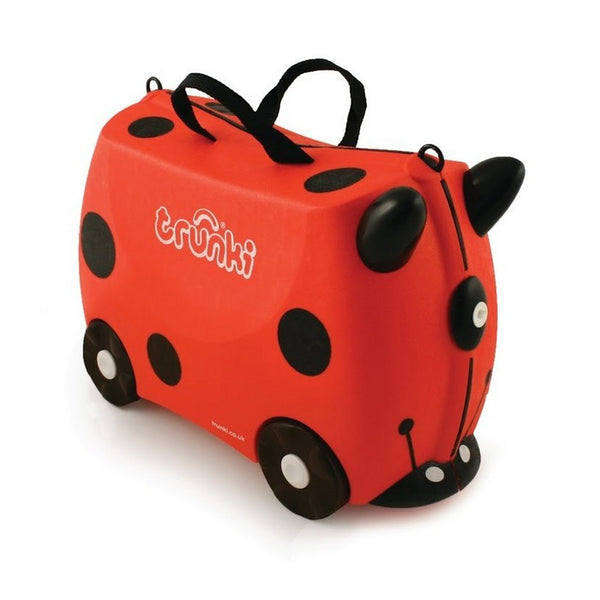 Trunki Ride On Luggage - Bernard Harley (Ladybug)
