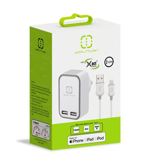TechCenter - USB WALL CHARGER & LIGHTNING USB CABLE