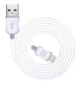TechCenter - MFI LIGHTNING CABLE WHITE/GREY 2M