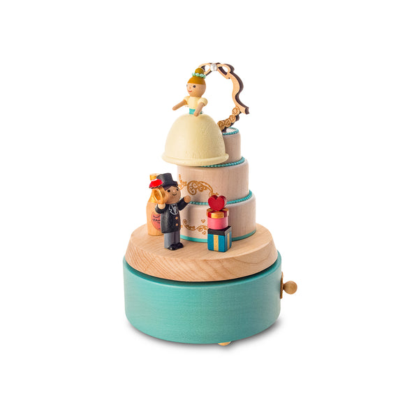 Multi Rotate Music Box-Wedding Cake 1pc