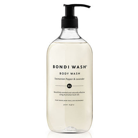 Bondi Wash-Body Wash 500ml (Tasmanian Pepper & Lavender)