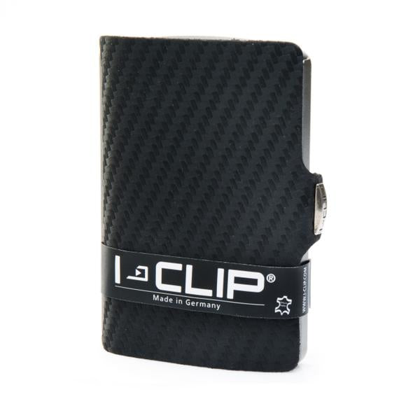 I-Clip Wallet- Carbon Fiber Black+ FREE EXTRA RFID Card Protector *2  (RRP: 14.95AUD)