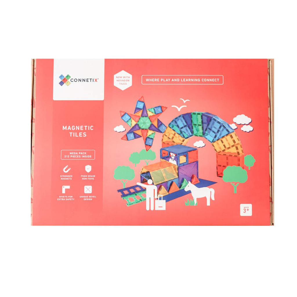 Connetix 212 pcs Mega Pack