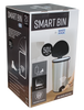 White Magic Smart Bin 50L - Fingerprint Proof Stainless Steel