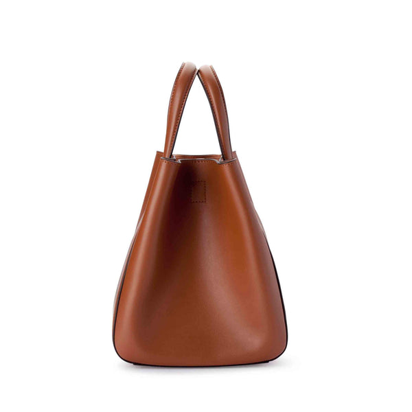X Nihilo Eight Mini Tan Tote/ Bucket