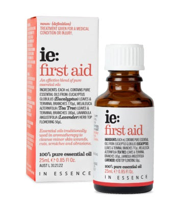 In Essence- First Aid Pure Essential Oil Blend 25mL