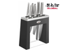 GLOBAL KABUTO KNIFE BLOCK SET BLACK
