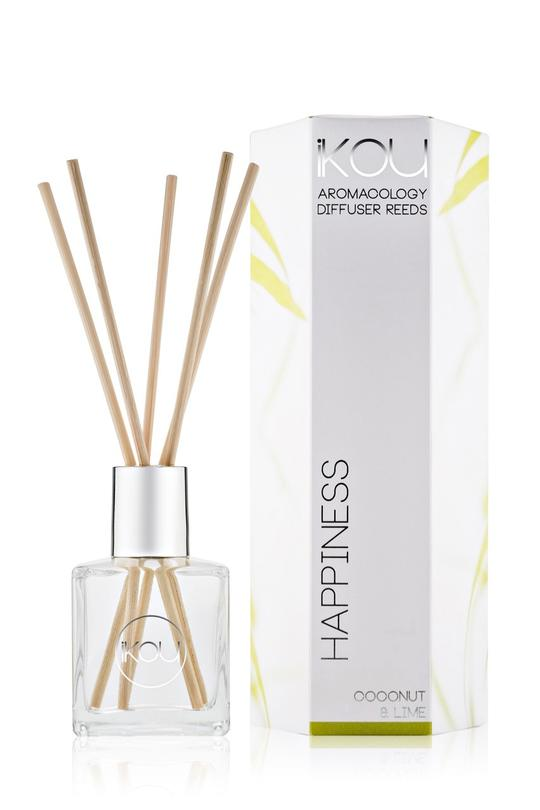iKOU Aromacology Diffuser Reeds-Happiness