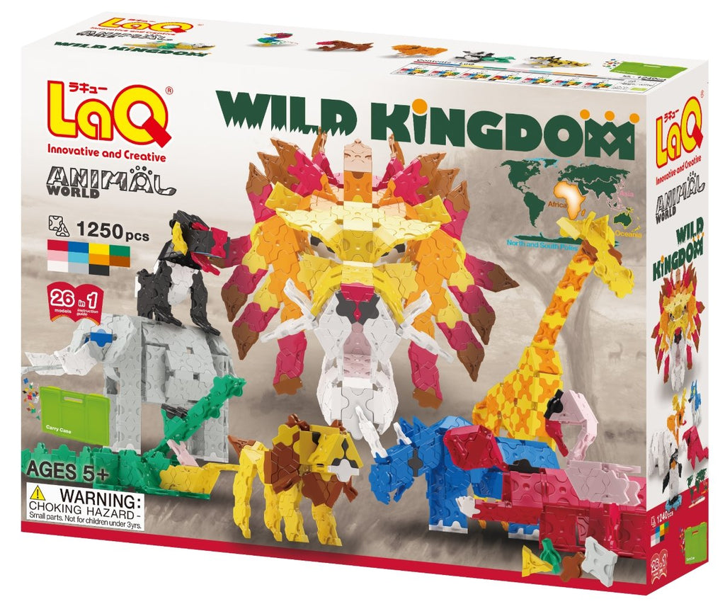 ANIMAL WORLD WILD KINGDOM - 26 MODELS, 1250 PIECES