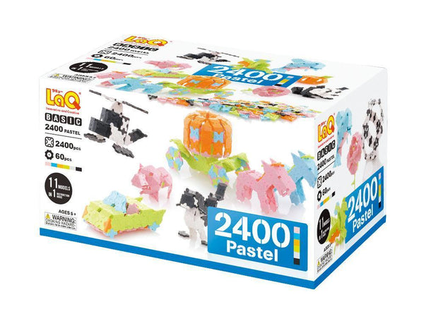 BASIC 2400 PASTEL - 11 MODELS, 2400 PIECES