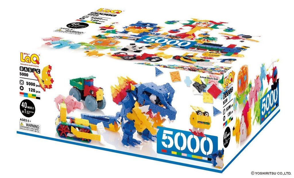 BASIC 5000 - 40 MODELS, 5000 PIECES