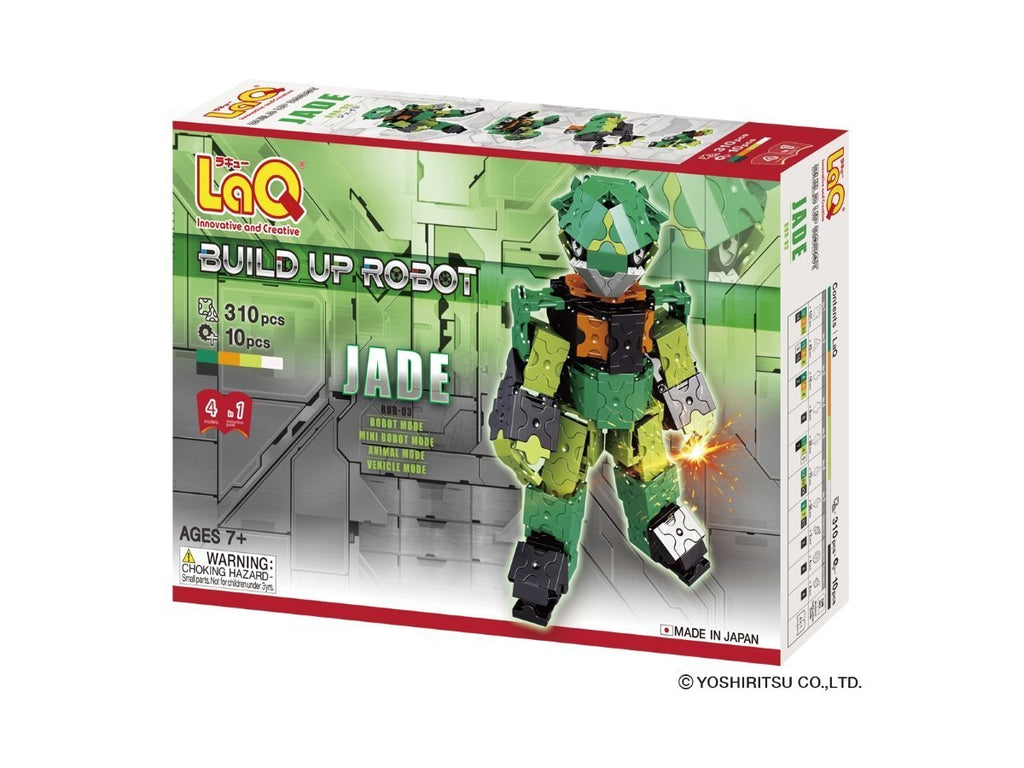 BUILDUP ROBOT JADE - 4 MODELS, 310 PIECES