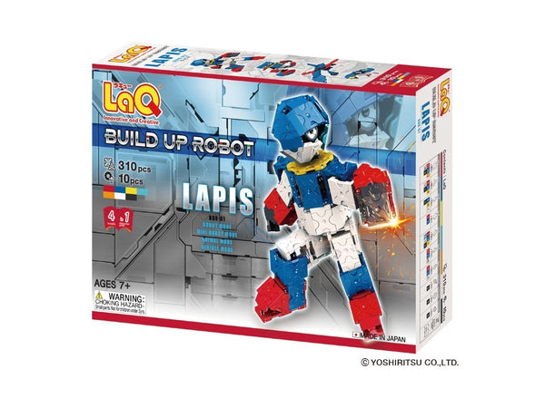 BUILDUP ROBOT LAPIS - 4 MODELS, 310 PIECES