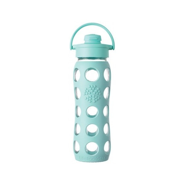 Lifefactory glass bottle 650ml (Flip Cap)