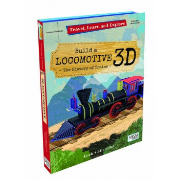 Sassi 3D Travel Learn Explore Locomotive