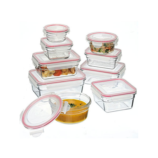 Glasslock 9 Piece Oven Safe Set