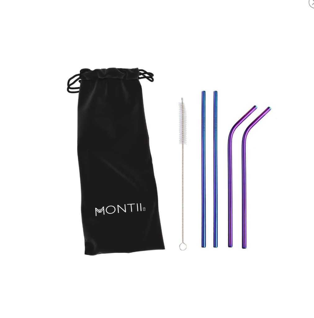 MontiiCo-Rainbow Straw Set